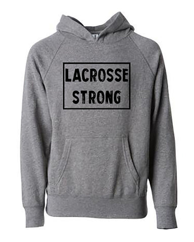 Lacrosse Strong Tee Hoodies
