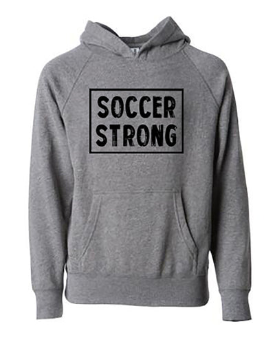 Soccer Strong Adult Hoodie