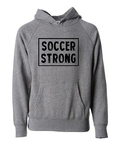 Soccer Strong Tees Hoodies