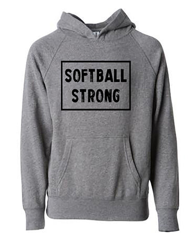 Softball Strong Tees Hoodies