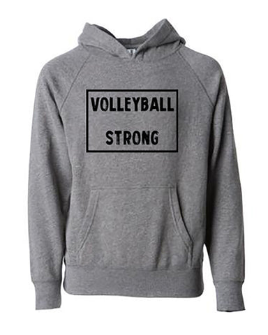 Volleyball Strong Tees Hoodies