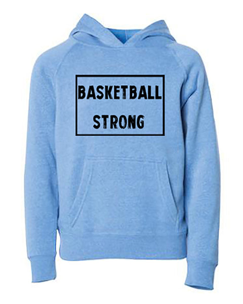 Basketball Strong Youth Hoodie