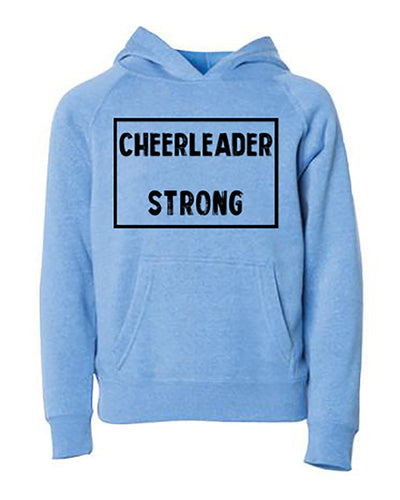 Cheerleader Strong Adult Hoodie