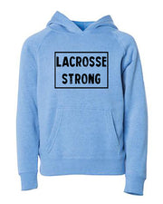 Lacrosse Strong Youth Hoodie