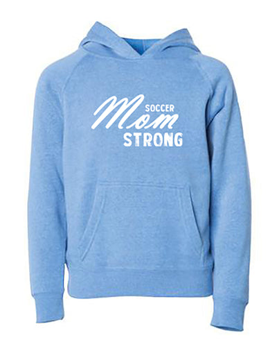 Soccer Mom Strong Adult Hoodie