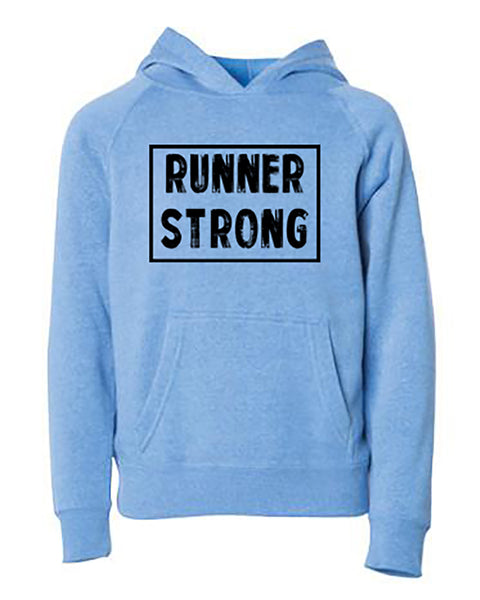 Runner Strong Youth Hoodie