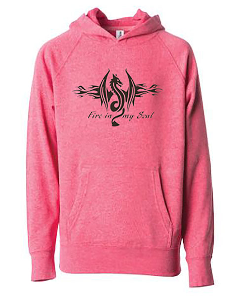 Fire In My Soul Youth Hoodie