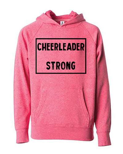Cheerleader Strong Youth Hoodie