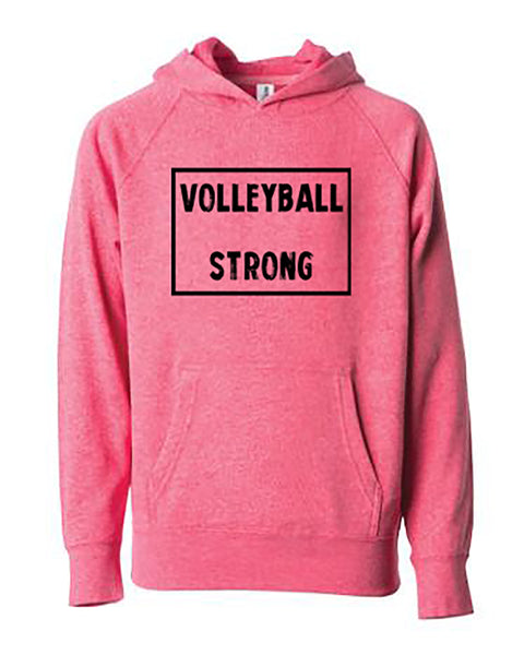 Volleyball Strong Youth Hoodie