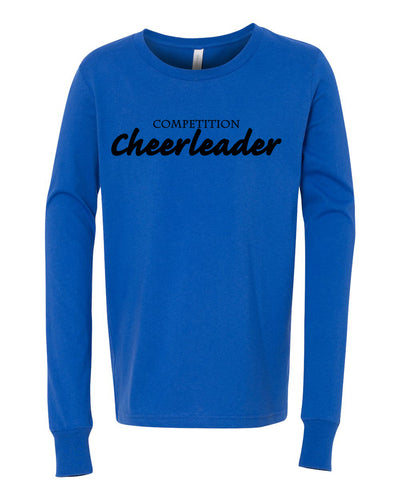Competition Cheerleader Youth Long Sleeve T-Shirt