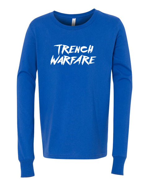 Trench Warfare Long Sleeve Youth T-Shirt