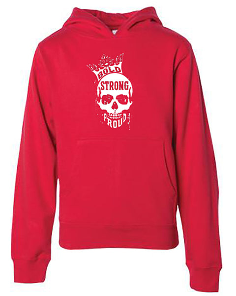 Bold Strong Proud Youth Hoodie