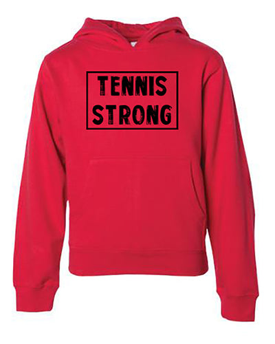 Tennis Strong Youth Hoodie