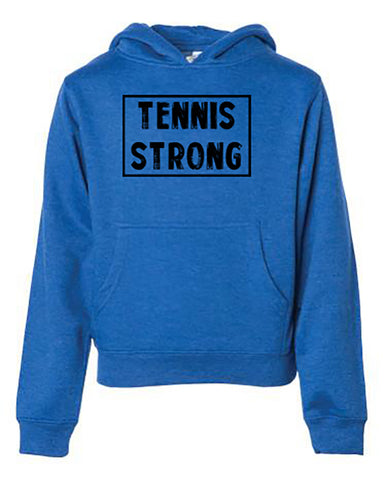 Tennis Strong Tees Hoodies