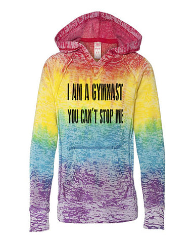I Am A Gymnast You Can't Stop Me Tees Tanks Hoodies