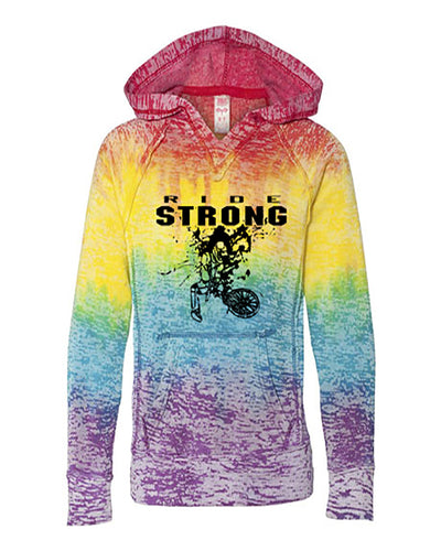 Ride Strong Youth Tie Dye BMX Hoodie