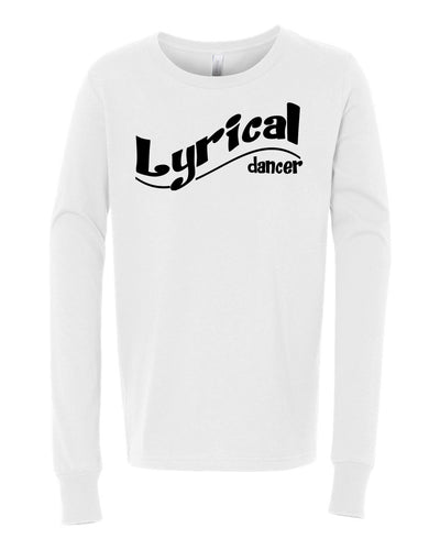 Lyrical Dancer Youth Long Sleeve T-Shirt
