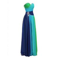 Multi Colored Prom Dress Evening Party Gown -NBAdresses