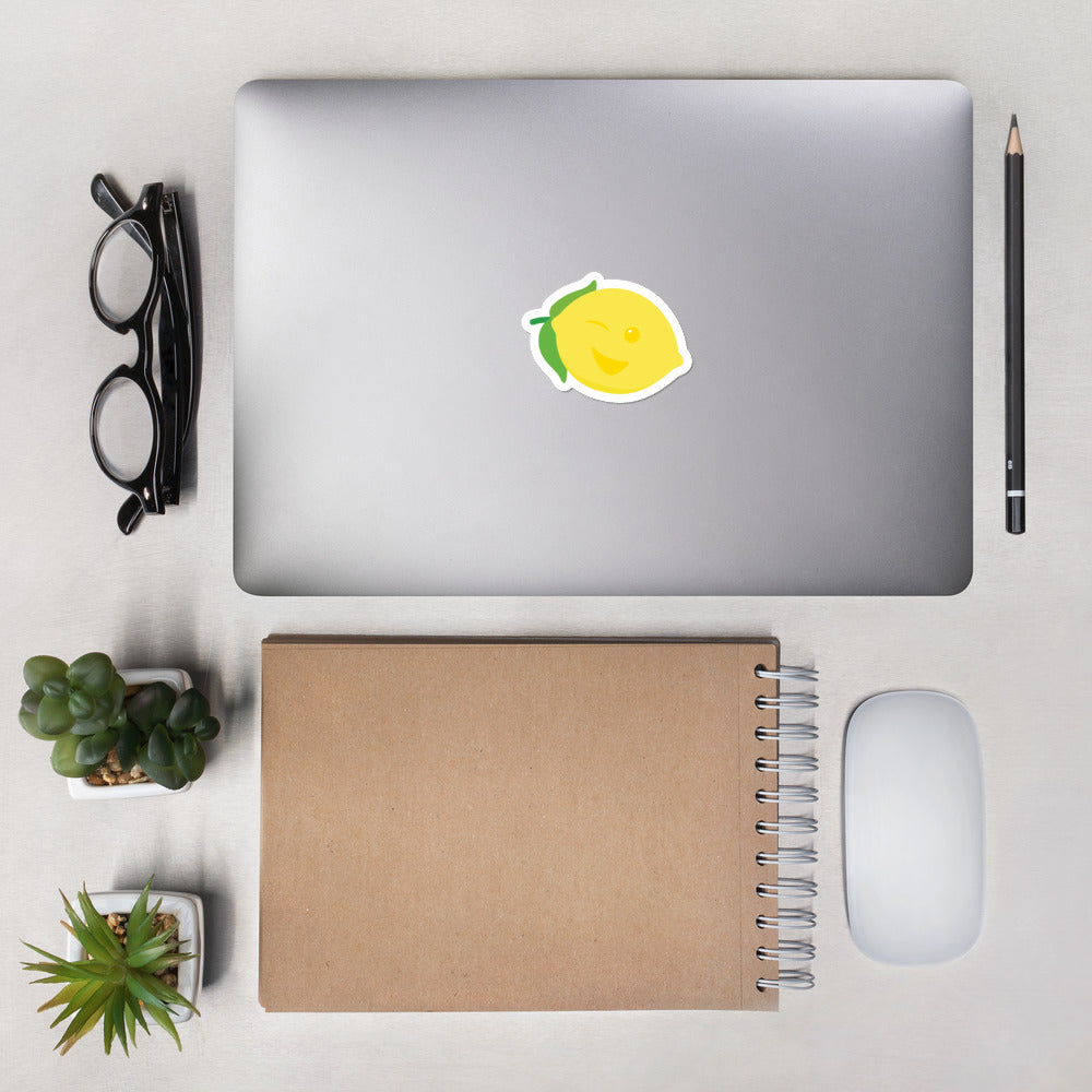 Bubble-free stickers - Lemon Logo - LimonadaLA