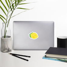 Load image into Gallery viewer, Bubble-free stickers - Lemon Logo - LimonadaLA