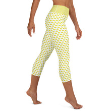 Load image into Gallery viewer, Yoga Capri Leggings - Lemon Logo - LimonadaLA