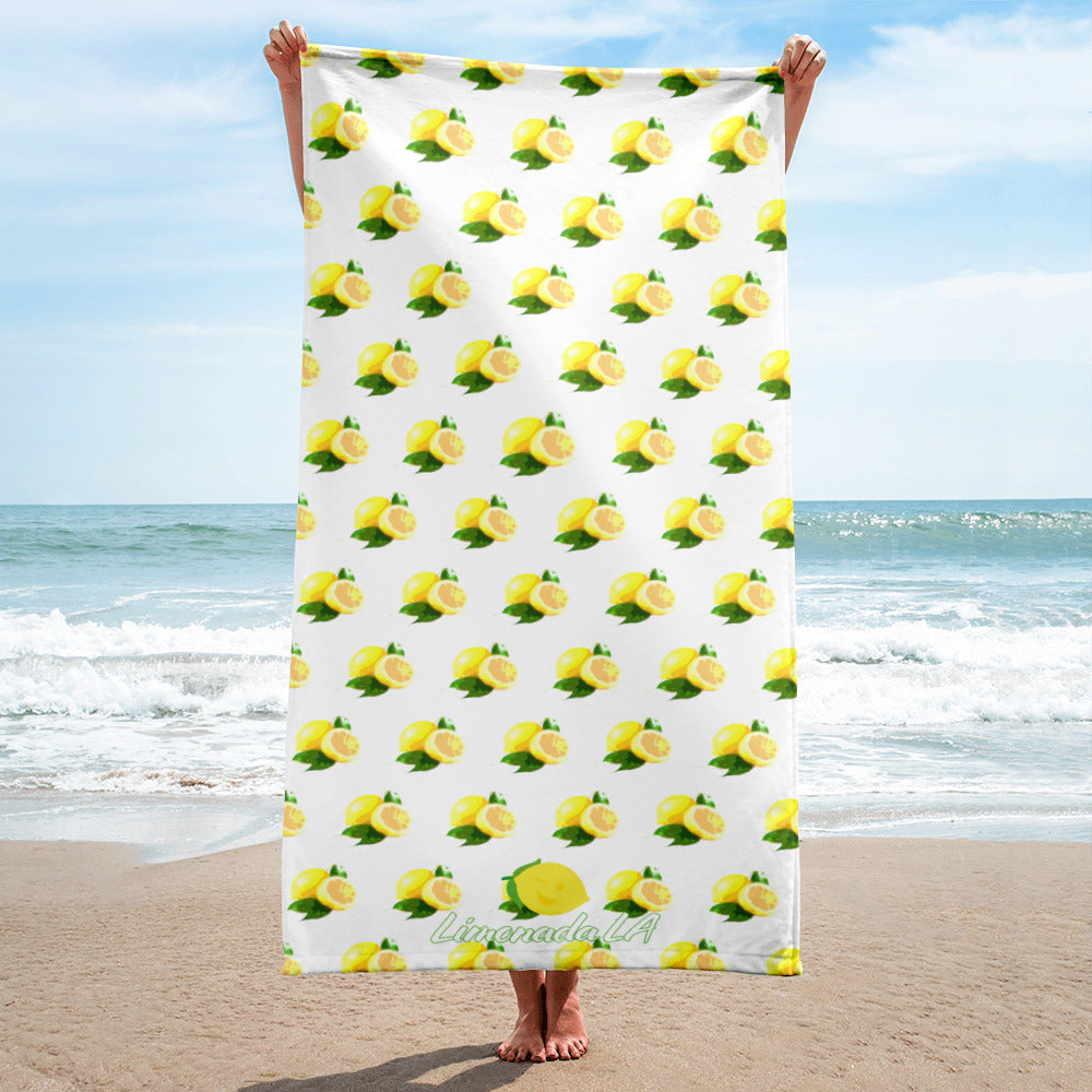 Towel - Lemon Art