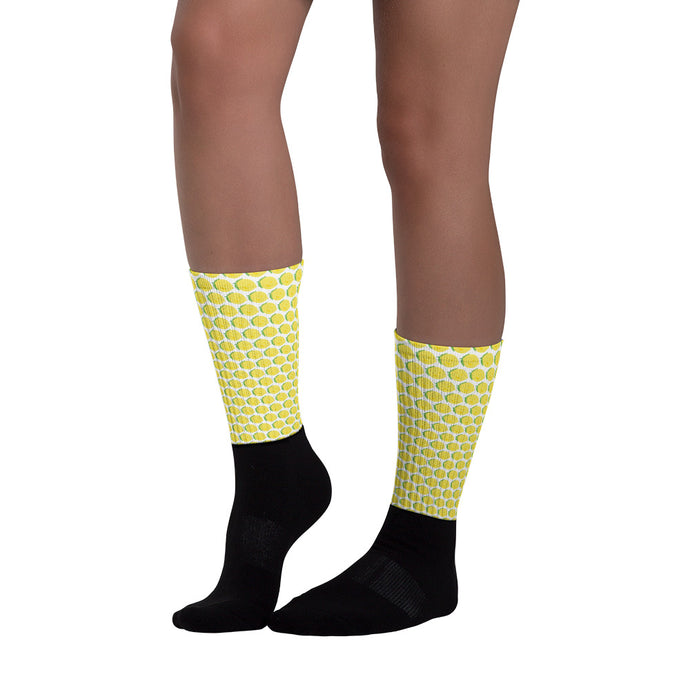 Socks - Lemon Logo - LimonadaLA