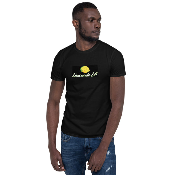 Short-Sleeve Unisex T-Shirt - Limonada LA Retro Logo - LimonadaLA