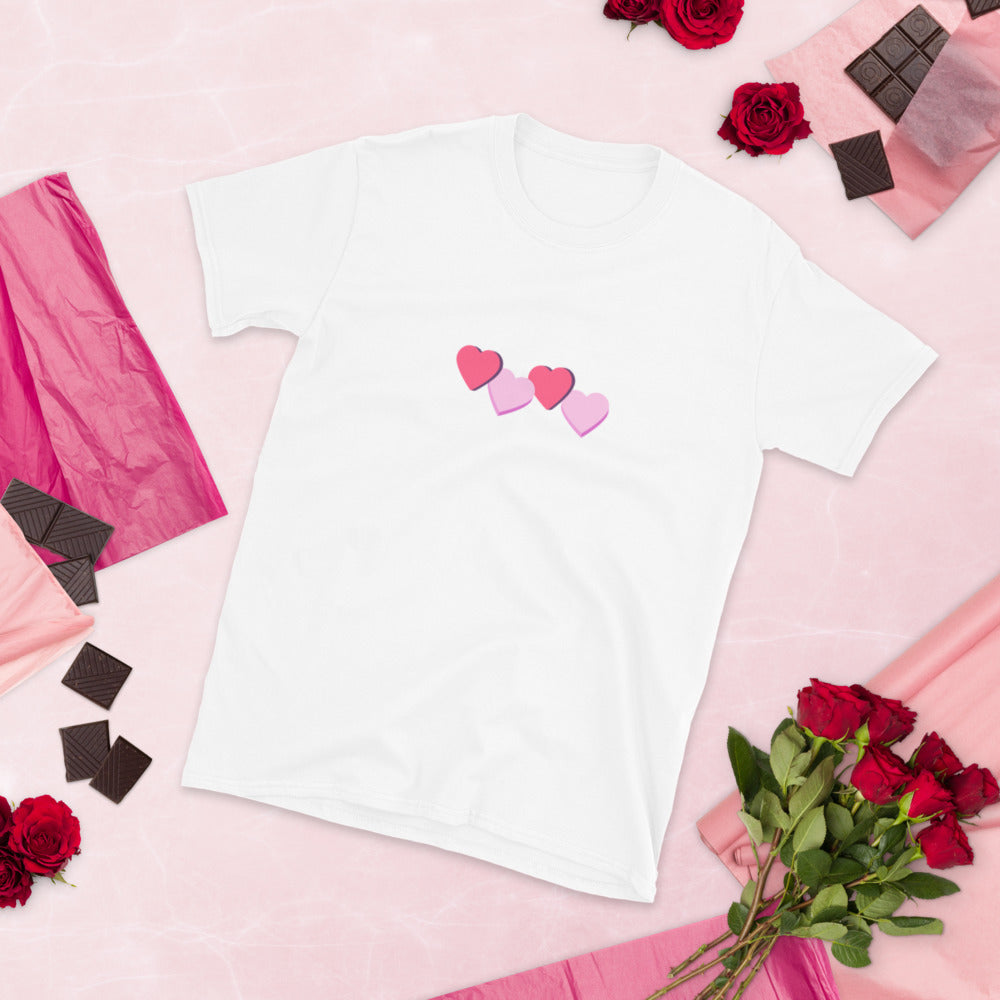 CANDY HEARTS - Short-Sleeve Unisex T-Shirt