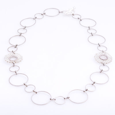 Intuma - Silver Necklace