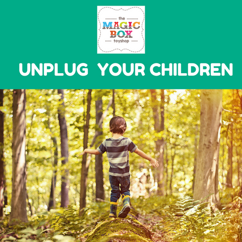 Unplug your children