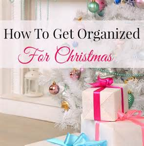 Lets Talk Christmas and getting organised
