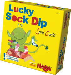 Lucky dip sock monster haba game