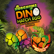Hatching T-REX  Eggs