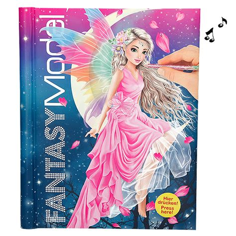 Top Model - fantasy model singing book