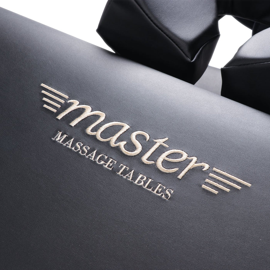 "Refurbish Master Massage 30"" DEL RAY™ Portable Massage Table Package with 3"" Thick Cushion of Foam for Ultimate Comfort! (Black Color)"