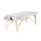 Master Massage Luxury Microfiber Massage Table Cover white