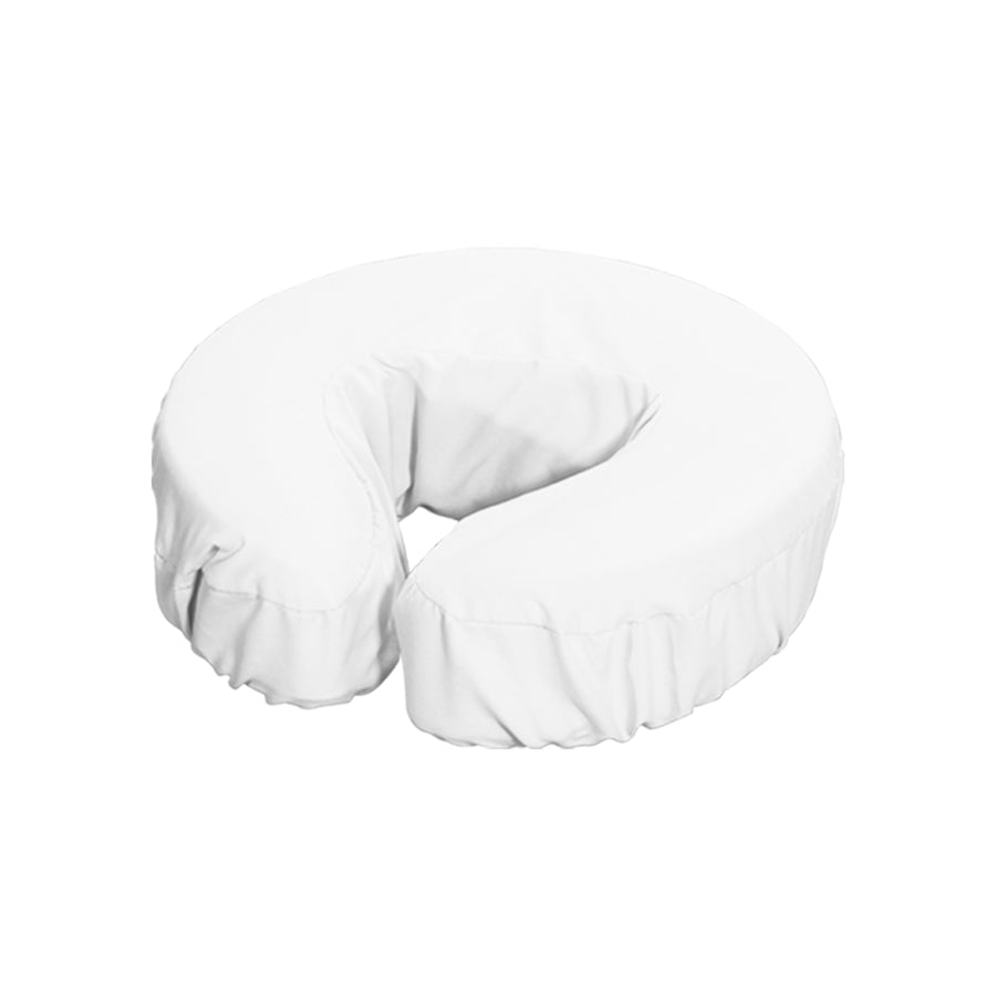 Master Massage Durable Microfiber Face Cushion Cover  white 12pc