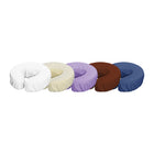 Master Massage Polyester Microfiber Face Cushion Cover white 12pc