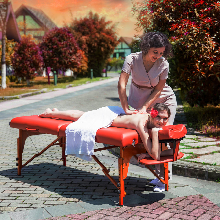 "Master Massage 31"" SANTANA Portable Massage Table"