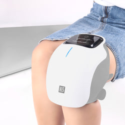 Hertz Electric Heated Vibrating Knee Massager for Pain Relief, Vibration Circulation and Relaxation