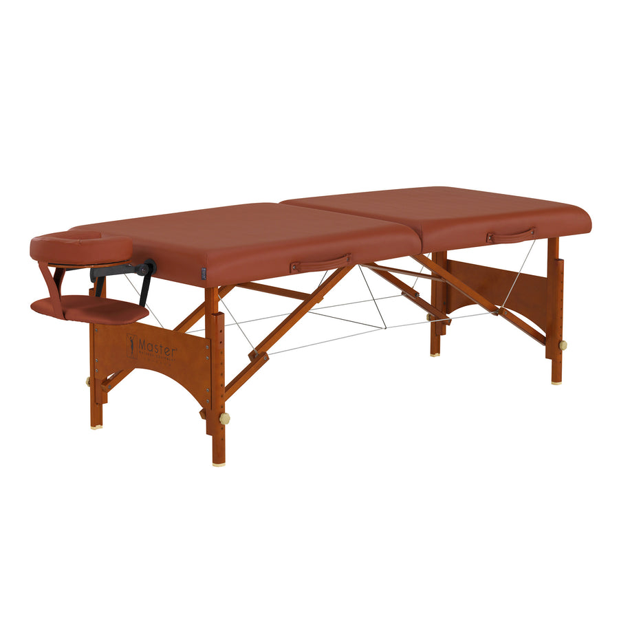 "Master Massage 25"" Fairlane wood folding Massage Table"