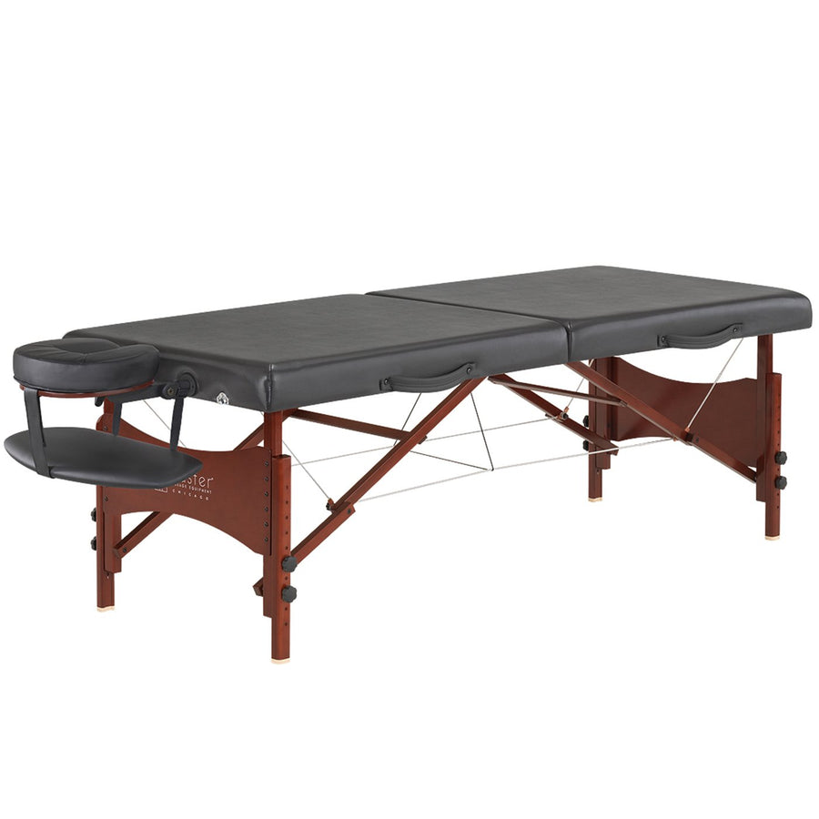 "Refurbish Master Massage 30"" Roma™ LX Portable Massage Table Package with Best Selling Size (Black)"