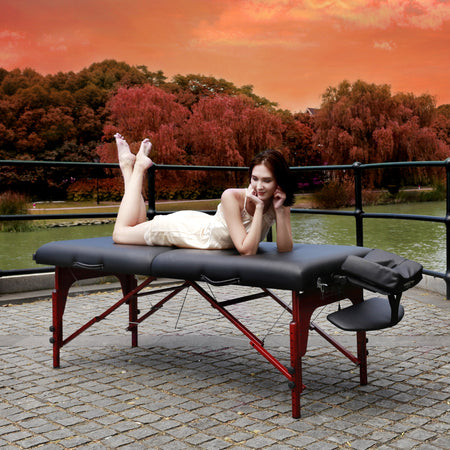"Master Massage 31"" Massage Table Wood massage bed  Salon table Beauty Table Tattoo table"