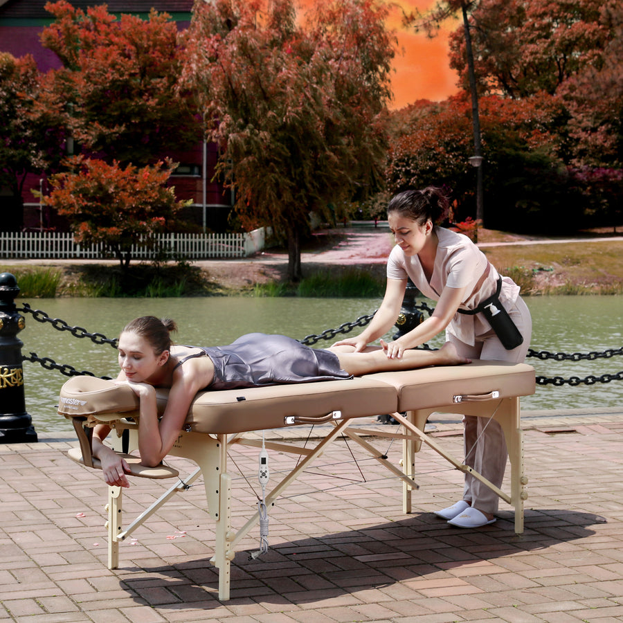 "Master Massage 30"" Phoenix™ Portable Massage bed wood massage table beauty table  facial table"