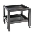 Master Massage Wooden 2-Tier Rolling Cart Mobile Trolley With Wheels For Salon Spa Tattoo Clinics Office Home Use Black