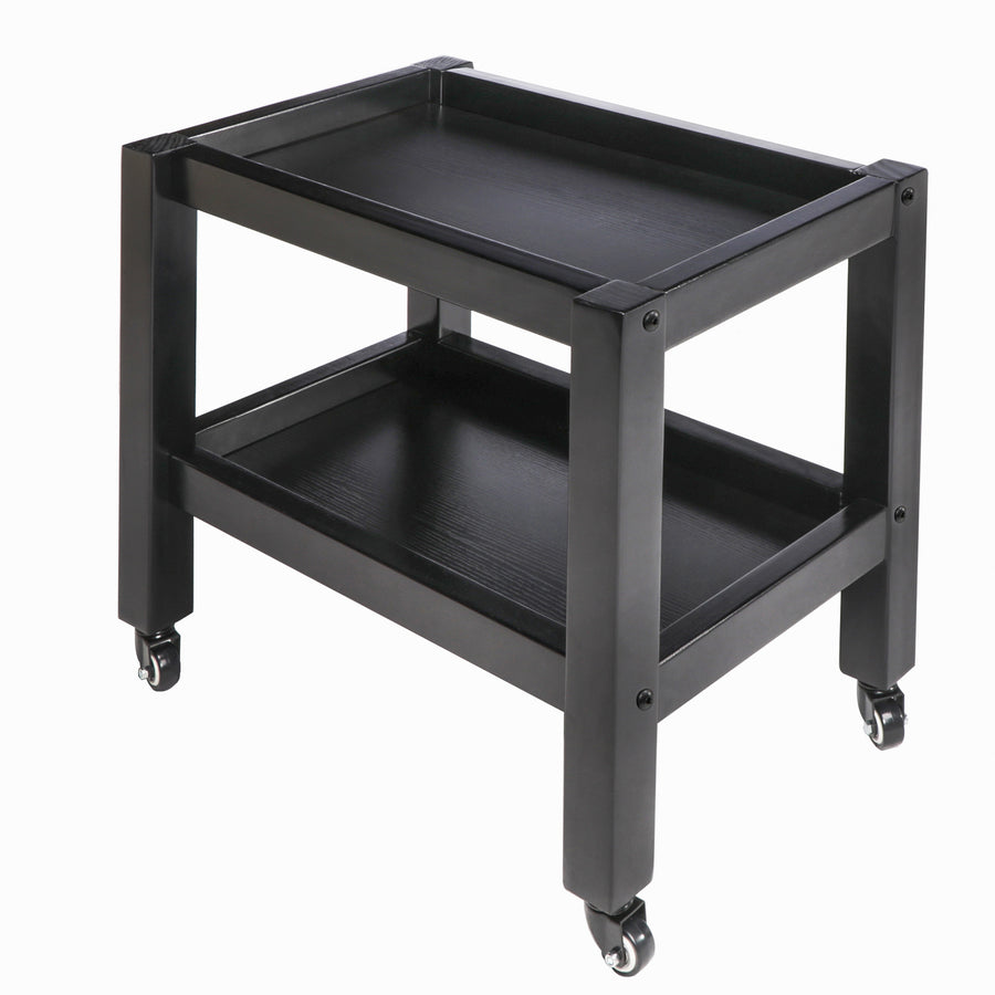 Master Massage Salon Trolley With Wheels black