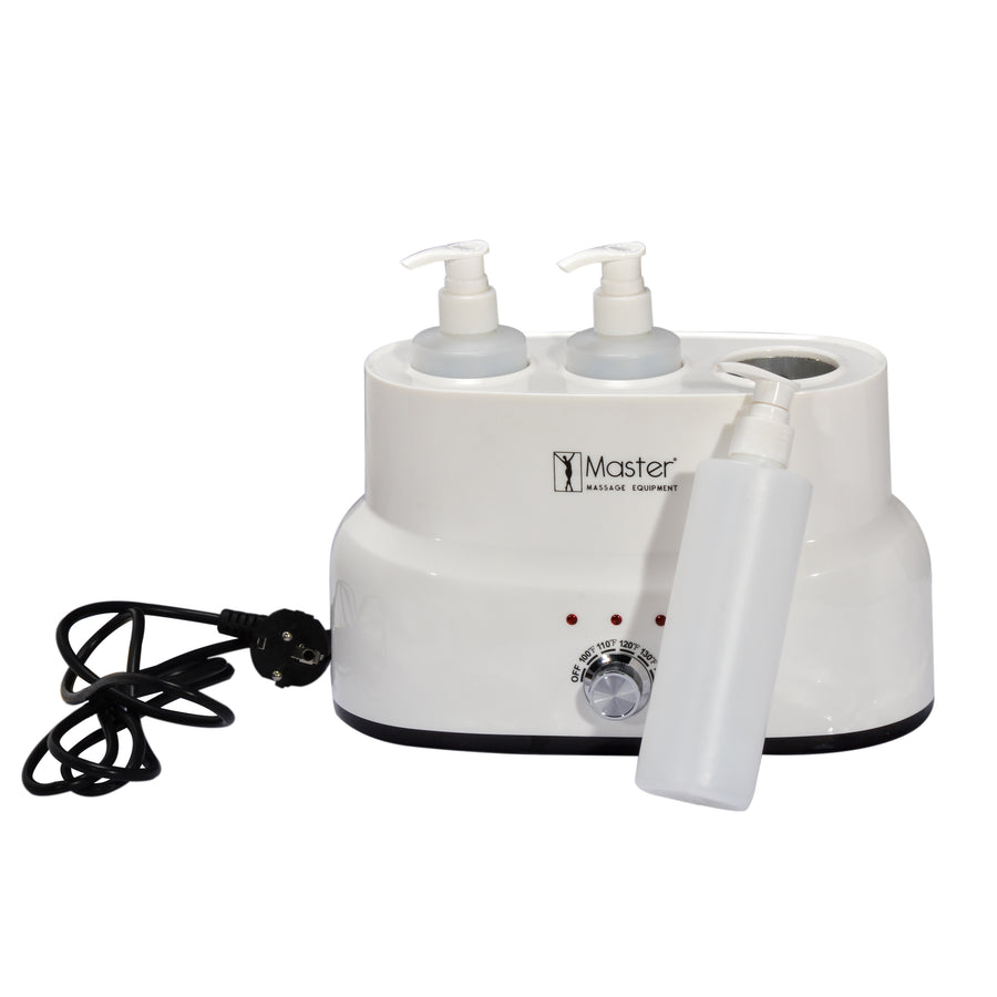 Master Massage 3-bottle massage oil heater massage oil warmer
