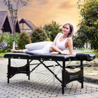 Master massage bed tattoo table wooden massage table folding massage table
