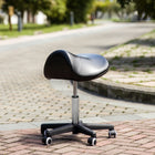 Master Massage Ergonomic Swivel Saddle comfort Stool Black